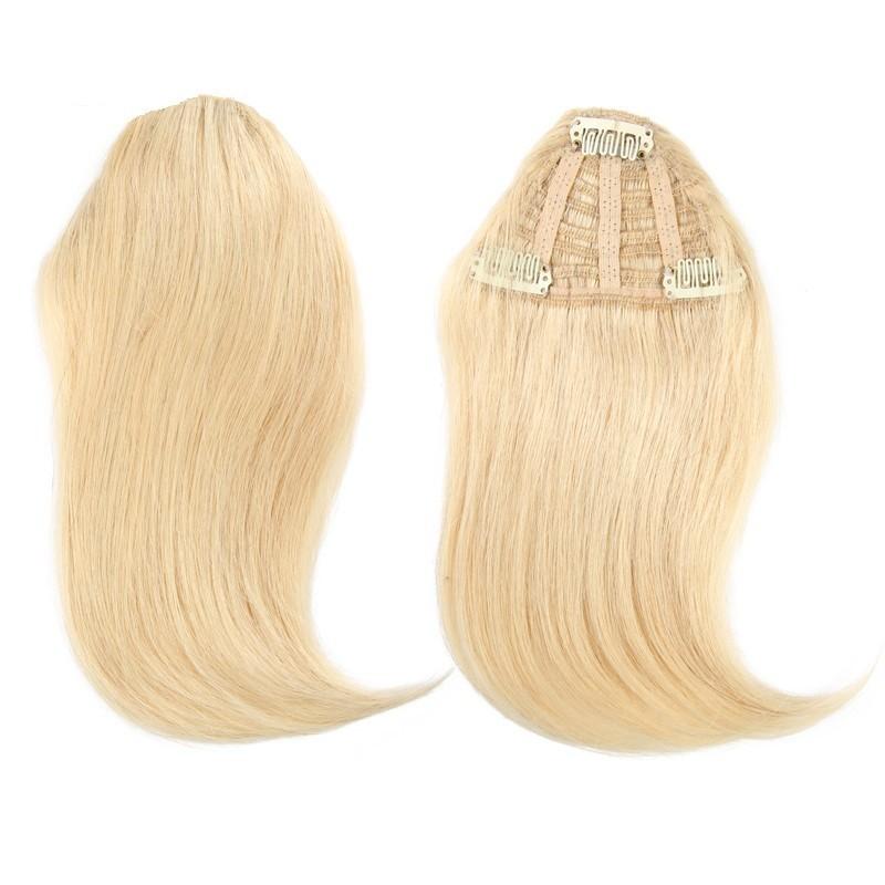 Sweeping Side Fringe, Colour 22 (Light Pale Blonde)