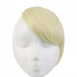 Sweeping Side Fringe, Colour 60 (Lightest Blonde)