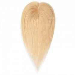 Crown Topper Hair Extensions, Colour #24 (Golden Blonde), Made With Remy Indian Human Hair
