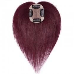 Crown Topper Hair, Colour 99j (Burgundy)
