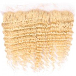 "Lace Frontal Closure (13"" x 4""), Colour 60 (Lightest Blonde)"