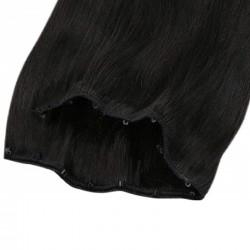 Micro Ring Weft, Colour 1 (Jet Black)