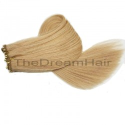 Micro Ring Weft, Colour 18 (Light Ash Blonde)