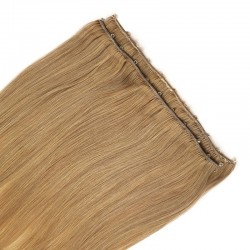 Micro Ring Weft Hair Extensions, Colour #27 (Honey Blonde), Made With Remy Indian Human Hair