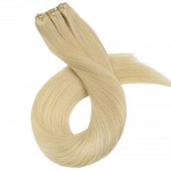 Micro Ring Weft, Colour 613 (Platinum Blonde)