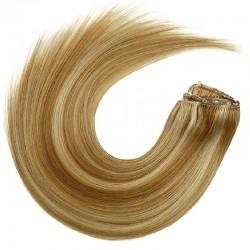 Micro Ring Weft, Mix Colour 18/22 (Light Ash Blonde / Light Pale Blonde)