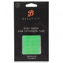 Beautify Easy Green Double Sided Tape Tabs, Hair Extension Tape By Walker Tape