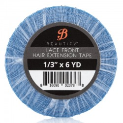 Beautify Lace Front (Blue) Double Sided Tape Roll, Hair Extension Tape By Walker Tape