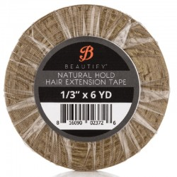 Beautify Natural Hold Double Sided Tape Roll, Hair Extension Tape By Walker Tape