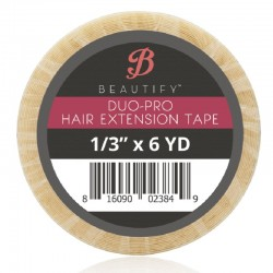 Beautify Duo-Pro Double Sided Tape Roll, Hair Extension Tape By Walker Tape