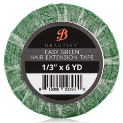 Beautify Easy Green Double Sided Tape Roll, Hair Extension Tape By Walker Tape