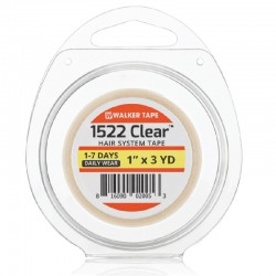 Walker Tape 1522 Clear Double Sided Tape Roll, Hair System Tape