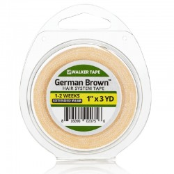 Walker Tape German Brown Double Sided Tape Roll For Hair System