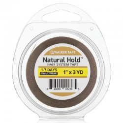 Natural Hold Double Sided Tape Roll, For Hair System, By Walker Tape