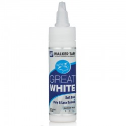 Great White Liquid Adhesive, For Hair System, By Walker Tape
