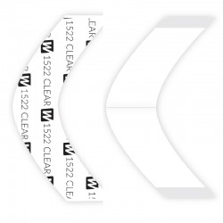 1522 Clear Double Sided Tape Contours, For Hair System, By Walker Tape