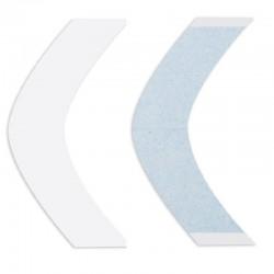 Lace Front Support Double Sided Tape Contours Strips, For Hair System, By Walker Tape