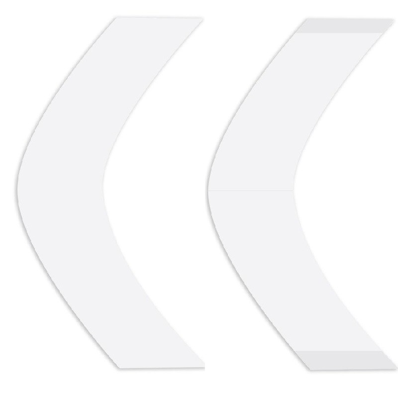 Ultra-Hold Double Side Tape Contour Strips, For Hair System, By Walker Tape