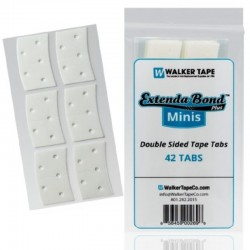 Extenda-Bond Plus Double-Sided Tape Minis Strips, For Hair System, By Walker Tape
