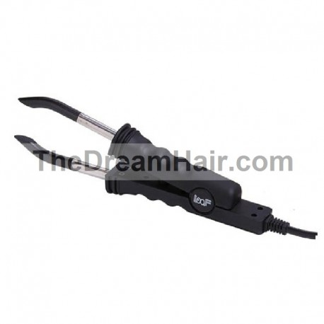 Hair Extensions Iron Connector, Flat Heating Plate, With Temperature Control For Fusion Bonding (B-Type)