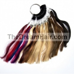 Colour Ring Cart For Hair Extensions, Made With 100% Human Hair