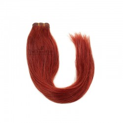 Weave, Straight, Color Red, Made With Remy Indian Human Hair