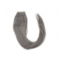 Weave, Straight, Color Silver, Made With Remy Indian Human Hair