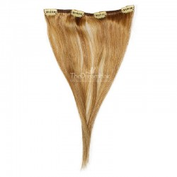 One Piece of Weft, Clip in Hair Extensions, Color #27 (Honey Blonde), Made With Remy Indian Human Hair