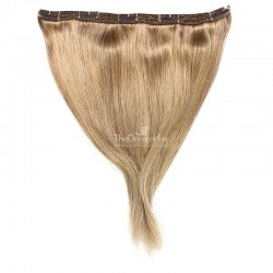 One Piece of Triple Weft, Extra Large And Thick, Clip in Hair Extensions, Color #10 (Golden Blonde)