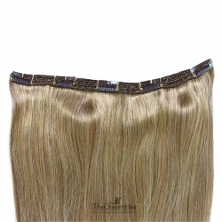 One Piece of Triple Weft, Extra Large And Thick, Clip in Hair Extensions, Color #14 (Dark Ash Blonde)