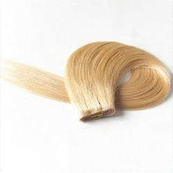 Skin Weft Hair Extensions, Colour #22 (Light Pale Blonde), Made With Remy Indian Human Hair