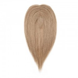 Crown Topper Hair Extensions, Colour #10 (Golden Brown), Made With Remy Indian Human Hair