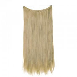Flip-in Halo Hair Extensions, Colour #18 (Light Ash Blonde), Made With Remy Indian Human Hair