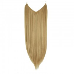 Flip-in Halo Hair Extensions, Colour #16 (Medium Ash Blonde), Made With Remy Indian Human Hair