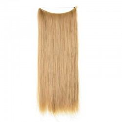 Flip-in Halo Hair Extensions, Colour #27 (Honey Blonde), Made With Remy Indian Human Hair